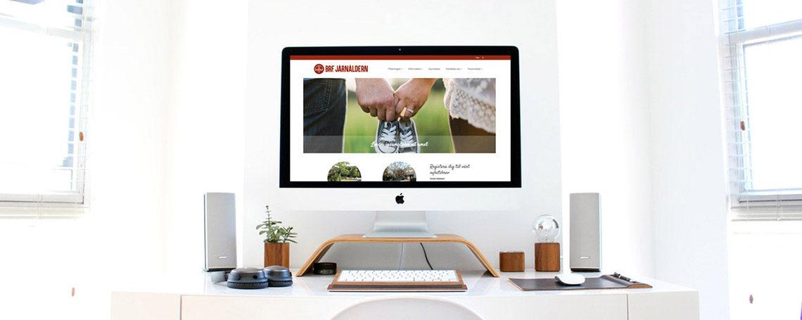 Välkommen till en ny hemsida