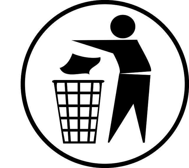 Container för blandat avfall